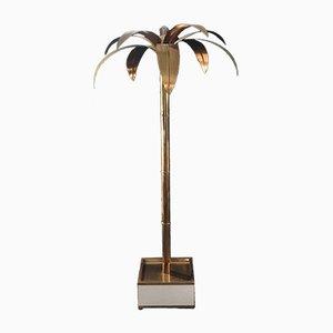 Lámpara de pie Palmera de latón de Antique Boutique