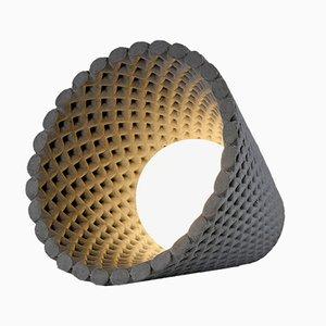 Helia Grey Concrete Table Lamp by Dror Kaspi for Ardoma Studio