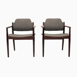62A Rosewood Armchairs by Arne Vodder for Sibast, 1960s, Set of 2