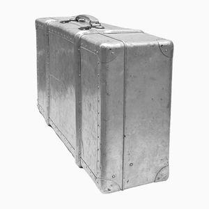 Maleta vintage de aluminio