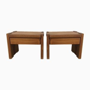 T38 Nightstands by Pierre Chapo, 1960s, Set of 2