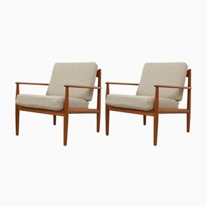 Model No. 118 Easy Chairs by Grete Jalk for France & Søn, 1960s, Set of 2