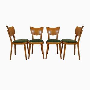Esszimmerstühle von Thonet, 1960er, 4er Set