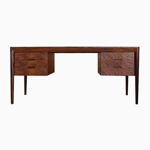 Modell 66 Schreibtisch aus Palisander von Erik Riisager Hansen für Haslev Møbelsnedkeri, 1950er