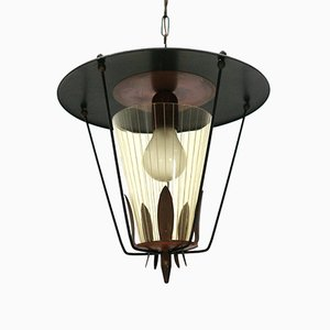 Lantern Pendant Light, 1950s