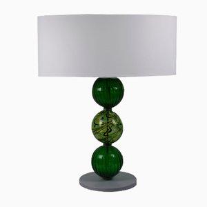 Lámpara de mesa verde de Eros Raffael
