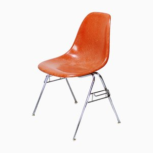 Silla apilable DSS vintage de Ray & Charles Eames para Herman Miller