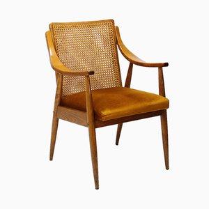 Cane Back Armchair, 1960s