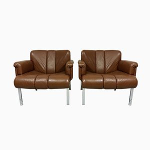 Model Euro Lounge Chairs from Girsberger, 1960s, Set of 2