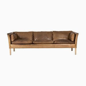 Cromwell Leather Sofa by Arne Norell, 1960s
