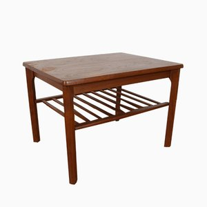 Mid-Century Danish Teak Coffee Table from Toften, 1960s