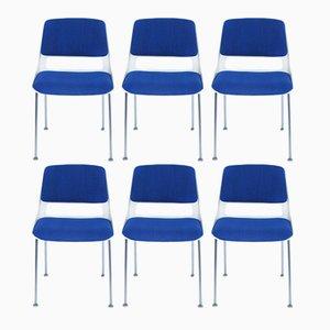 Modell 2220 Esszimmerstühle von André Cordemeyer für Gispen, 1960er, 6er Set