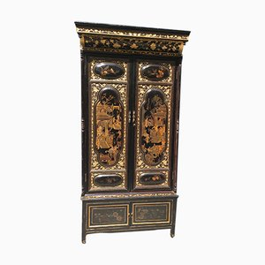Antique Chinese Gilt & Painted Cabinet