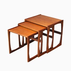 Tables Gigognes en Teck par R. Bennett pour G-Plan 1960s