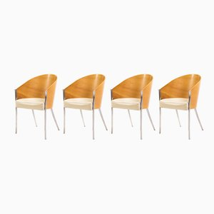 King Costes Chairs by Philippe Starck for Driade, 1999, Set of 4