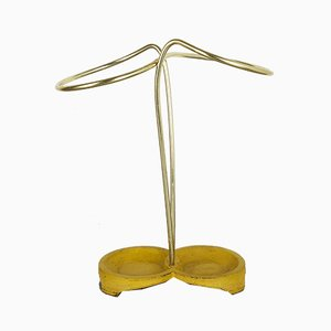 Brass Bauhaus Umbrella Stand, 1950s