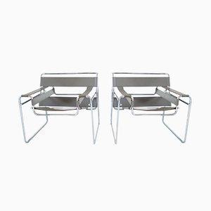 Wassily Stühle von Marcel Breuer für Knoll International, 1980er, 2er Set