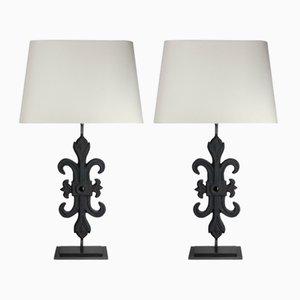 Lampes de Bureau Vintage, Set de 2