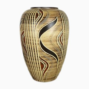 Grand Vase en Céramique par Franz Schwaderlapp pour Sawa Keramik, Allemagne, 1960s