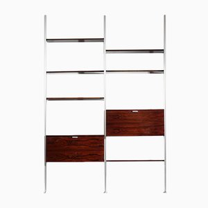 Rosewood Wall Unit by George Nelson for Mobilier International, 1960s
