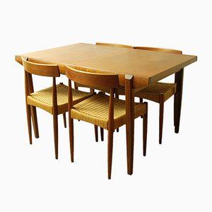 Mesa de comedor extensible Mid-Century de Bath Cabinet Makers Ltd, años 60