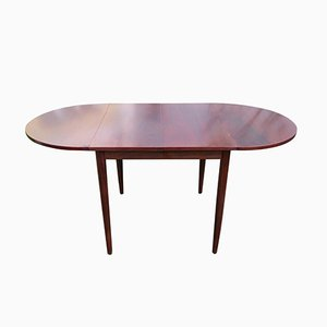 Oval Rosewood Dining Table, 1960s