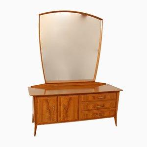 Credenza con specchio di Willisau AG, anni '50
