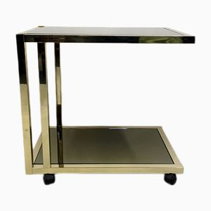 Belgian Gold Plated Drinks Trolley, 1980s