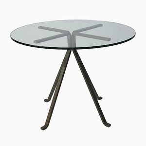 Vintage Cugino Pedestal Table by Enzo Mari for Driade, 1973