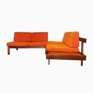 Vintage Modular 2-Piece Sofa Set from Guy Rogers