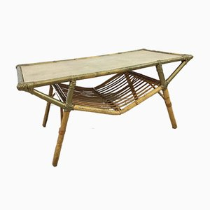 Mesa de centro de bambú