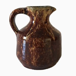 Ceramic Pitcher from Accolay, 1950s