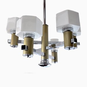 Vintage Chandelier by Gaetano Sciolari for Sciolari, 1970s