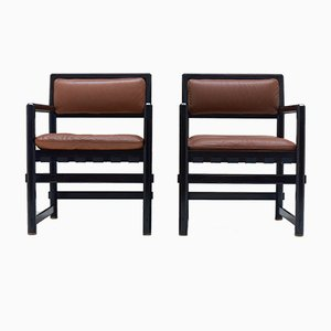Vintage Armchairs by Edward J. Wormley for Mobilier International, 1960s, Set of 2