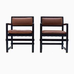 Vintage Stühle von Edward J. Wormley für Mobilier International, 1968, 2er Set