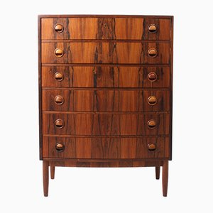 Danish Chest of Drawers in Rosewood, 1950s