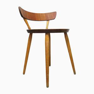Chaise d'Appoint Vintage par Kajsa & Nils Nisse Strinning, Suède, 1950s