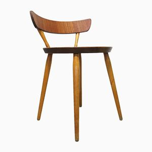 Vintage Swedish Side Chair by Kajsa & Nils Nisse Strinning, 1950s