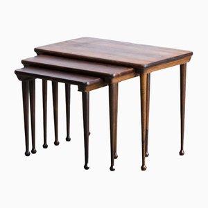 Tables Gigognes Mid-Century, 1960s, Set de 3