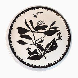 Mid-Century Keramikteller von Jean Lurcat für St Vicens