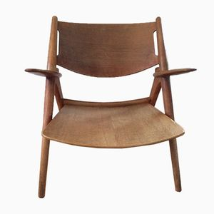 CH 28 Sawbuck Chair by Hans J. Wegner for Carl Hansen & Søn, 1951