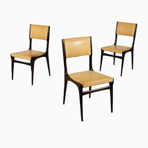 Model 671 Skai Chairs by Carlo de Carli for Cassina, 1950s, Set of 3