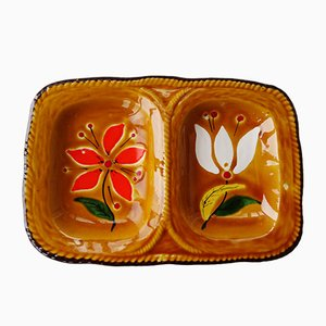 Ceramic Snack Tray from Poet Laval, 1970s