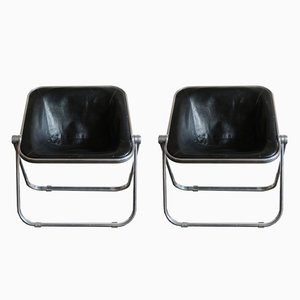 Plona Lounge Chairs by Giancarlo Piretti for Anonima Castelli, 1960s, Set of 2