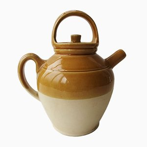 Terracotta & Glazed Pitcher from Digoin, 1950s