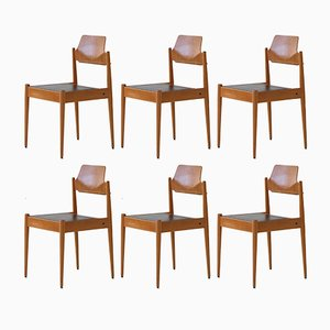 Model SE 19 Side Chairs by Egon Eiermann for Wilde+Spieth, 1950s, Set of 6