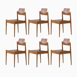 Sedie SE 19 di Egon Eiermann per Wilde + Spieth, anni '50, set di 6