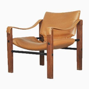 Chaise Safari Chelsea par Maurice Burke pour Arkana, 1960s