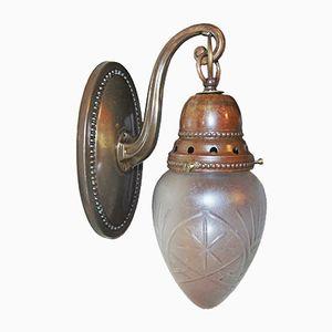 Antique Brass Sconce