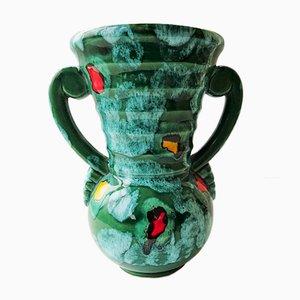 Drip Glaze Amphora Vase, 1960s